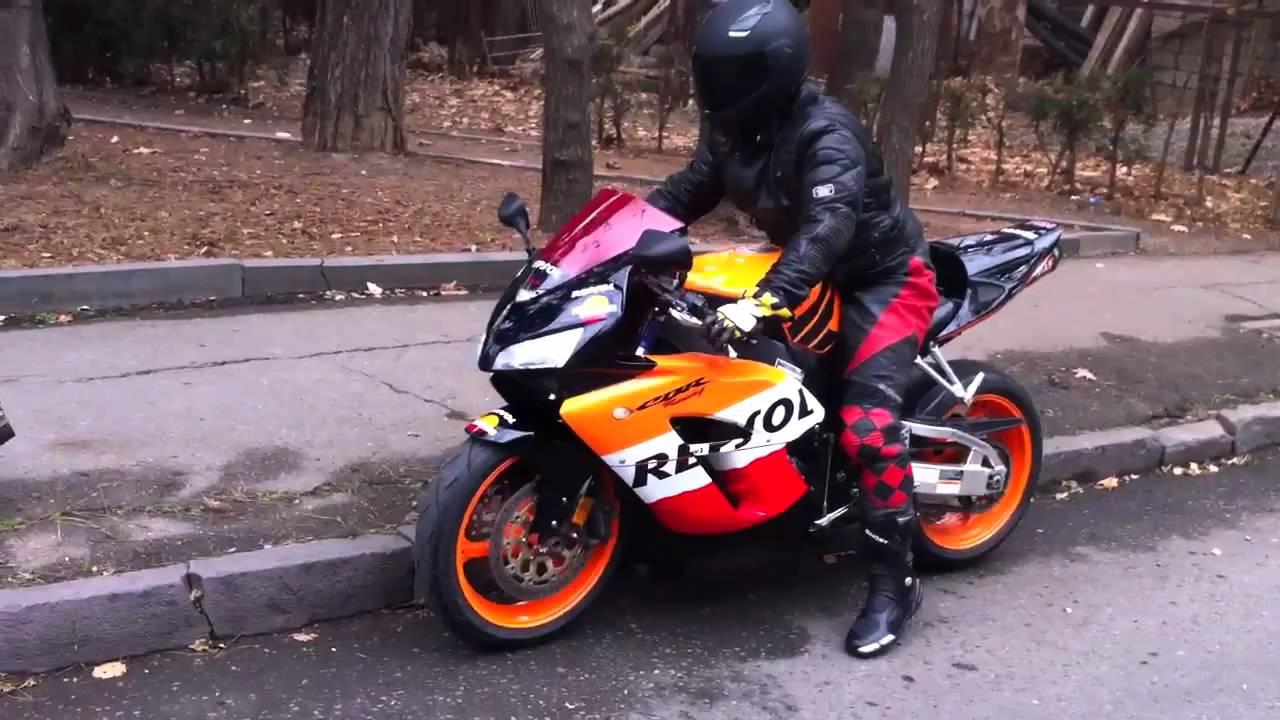 Honda Cbr 1000 Repsol Tbilisi Youtube