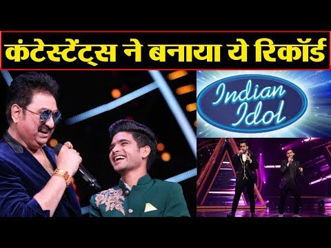 Indian Idol 10 contestants create Big RECORD with Kumar Sanu songs | FilmiBeat