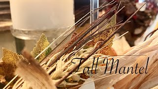 Decorate With Me Our Fall Mantel || Fall Decor 2018