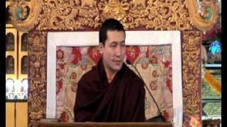 HH Karmapa - The Four Seals of Dharma 5-12.avi