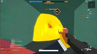 ROBLOX: Bud Busines I won!! Upei level and I did 27 kills