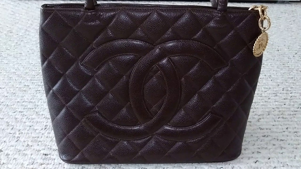 55482982e6d0 Chanel Medallion Tote - YouTube