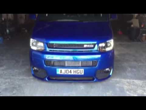 VW TRANSPORTER RS4 ENGINE!!