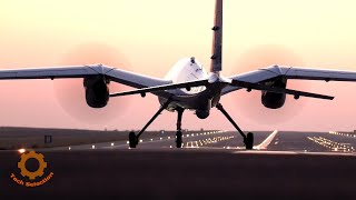 Новый турецкий ударный дрон Akıncı, способный нести крылатые ракеты