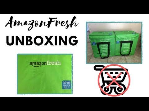 AmazonFresh | Unboxing