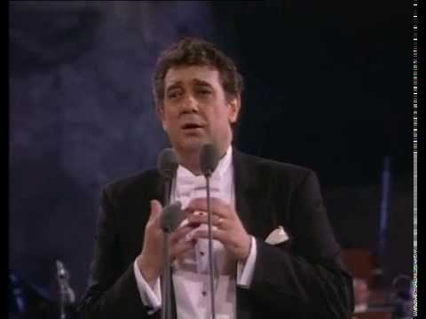 Placido Domingo. E lucevan le stelle. Tosca. G. Puccini.