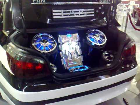Bmw Trunk Sound System Youtube