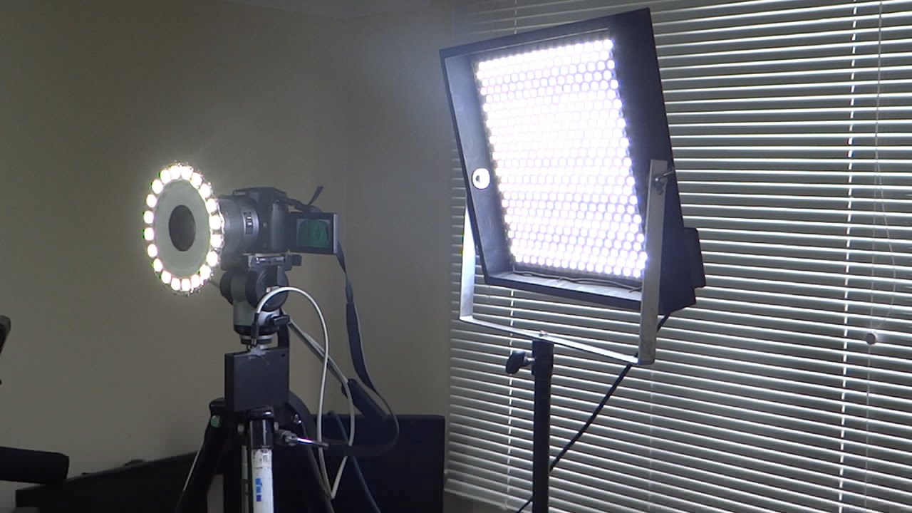 Our versions of DIY Perks video lights