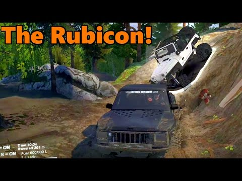 Spin Tires | Exploring THE RUBICON! with TC and JeepGuy