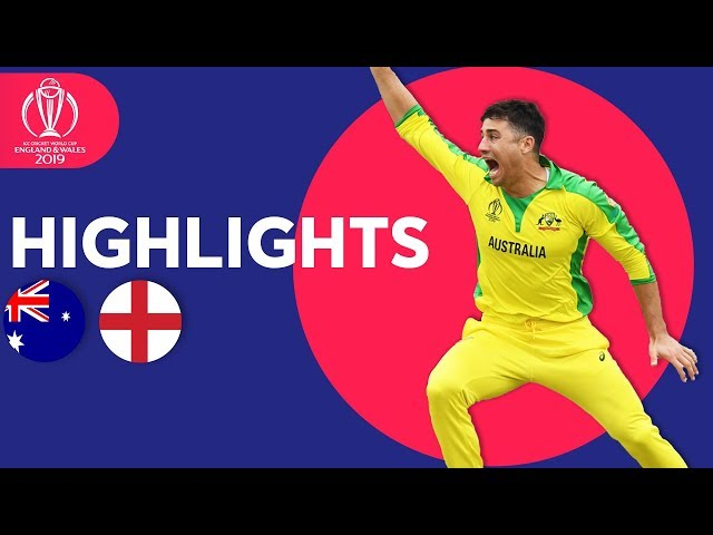 Finch & Starc Star at Lords | Australia vs England - Match Highlights | ICC Cricket World Cup 2019