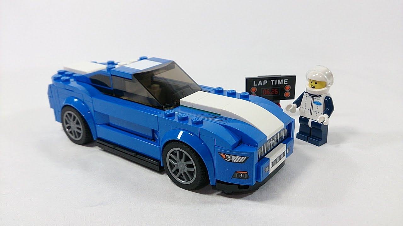 lego speed champions 2016 ford mustang gt review set 75871 youtube. Black Bedroom Furniture Sets. Home Design Ideas