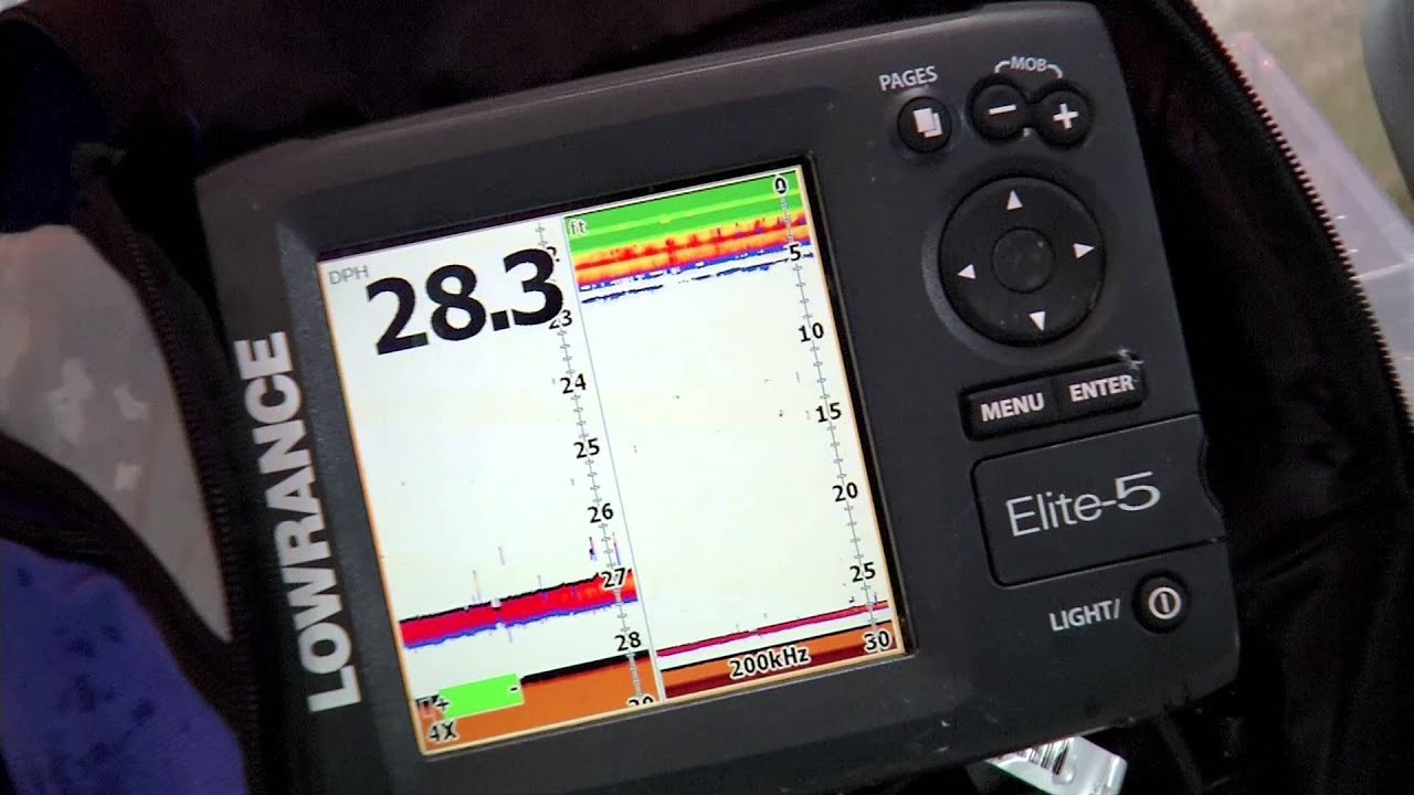 fishing tip - setting up your fish finder for ice fishing - the, Fish Finder