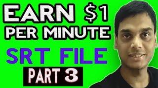 Erstellen Sie video-Untertitel-oder SRT-Datei einfach Teil 3 || Helfen abhi