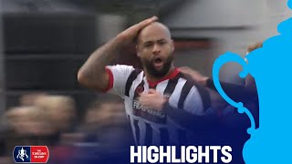 Chorley 2-2 Doncaster Rovers | Round 1 | Emirates FA Cup 2018/19