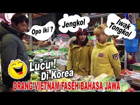 Orang Vietnam Faseh Bahasa Jawa Lucuuuuu