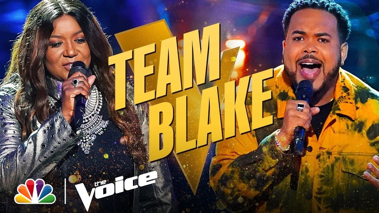 Download Incredible Performances from Team Blake's Jonathan Mouton and Wendy Moten | The Voice Knockouts 2021