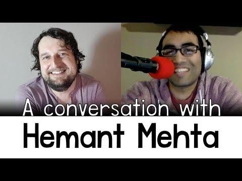 A conversation with Hemant Mehta (ex-Jain, editor of the Friendly Äthïest)