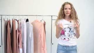 видео Летний базовый гардероб девушки