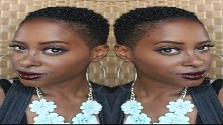 How I Style My TWA | Easy Coils