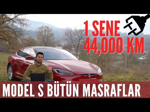 Tesla Model S İlk Yılında Ne Kadar Masraf Çıkarttı?