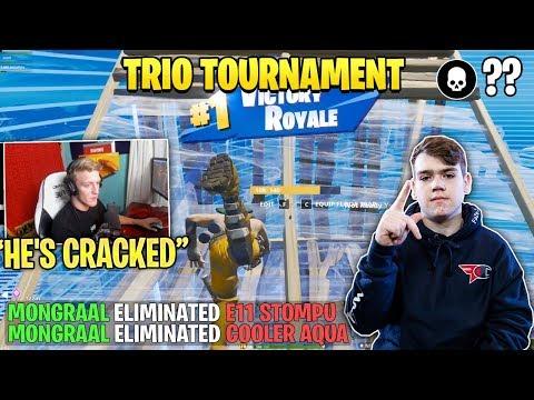 Mongraal *DESTROYS* Streamer in Fortnite Trio Tournament!