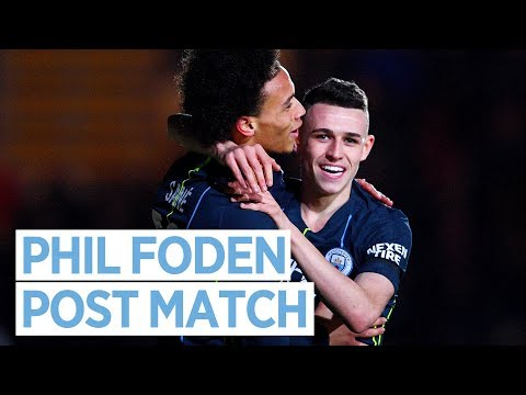 NEWPORT 1-4 MAN CITY | Phil Foden Post Match Interview | FA Cup