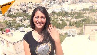 ماذا قالت الفتاة السورية عن روسيا بلغة المسيح (فيديو)