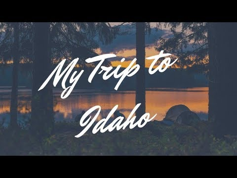 Exciting Announcement | My Trip to Idaho pt1