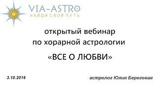 видео Школа Хорарной Астрологии Марка
