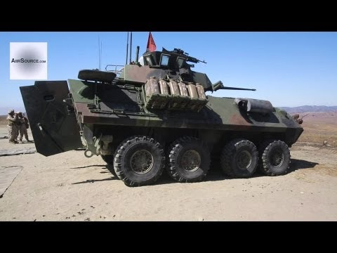 Marines Riflemen Live Fire - LAV-25 Weapons Systems
