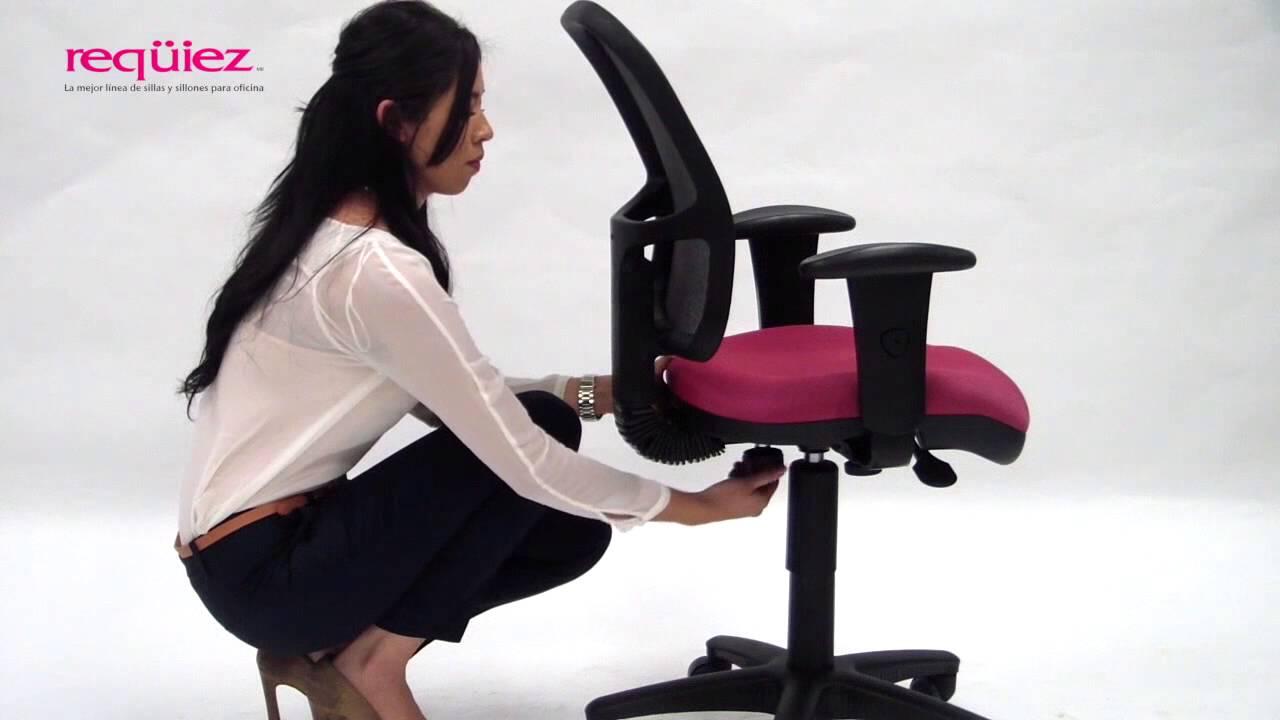 Req iez mecanismo b sico sillas y sillones para for Sillones para oficina