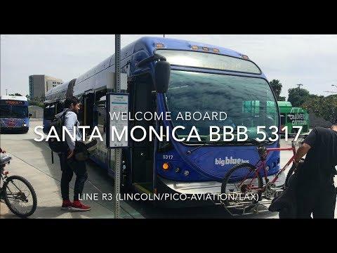 Santa Monica Big Blue Bus 2011 NABI 60-BRT CNG #5317 | Coin Lloyd's Transit Hub