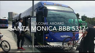 Santa Monica Big Blue Bus 2011 NABI 60-BRT CNG #5317 | Coin Lloyd