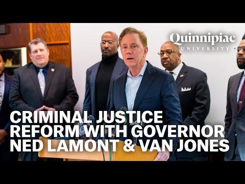 Van Jones & CT Governor Ned Lamont Lead Criminal Justice Reform Conversation at Quinnipiac