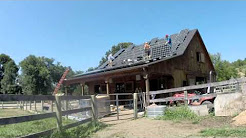 SunBlue Energy Solar installation -- barn in Garrison NY