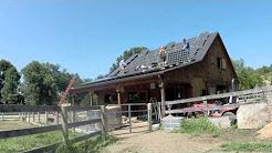 SunBlue Energy Solar installation -- barn in Garrison NY