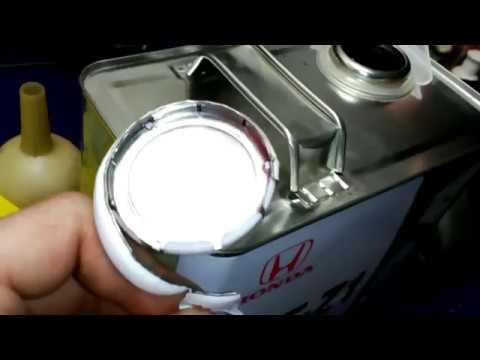 Honda Partner частичная замена жидкости в АКПП S4MA