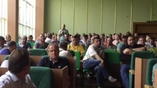 Зустріч голови Донецької ОДА з представниками керамічного бізнесу у Слов'янську