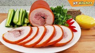 Jambon THỊT NGUỘI - Bí Quyết Làm THỊT NGUỘI Không Cần Cột Dây và Cách Làm Bơ Ăn Bánh Mì