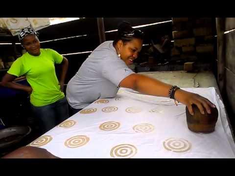 Tasha - Batik Making in Ghana, West Africa