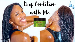 DEEP CONDITION WITH ME IN 2020 Mielle Rosemary Mint Mask Moisture Galore or NAH NATURAL HAIR