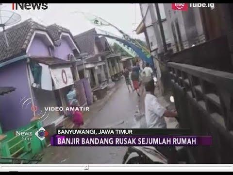 Detik-detik Banjir Bandang Terjang Banyuwangi, Warga Panik Selamatkan Diri - iNews Sore 22/06