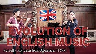 Evolution of English Music (1500-2017)