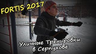 FORTIS 2017 [Уличные Функциональные Тренировки в Серпухове]. Видео от 6.01.2019 года