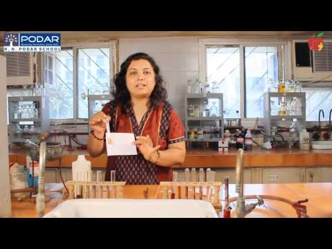 Class XII Chemistry Lab  identify functional group