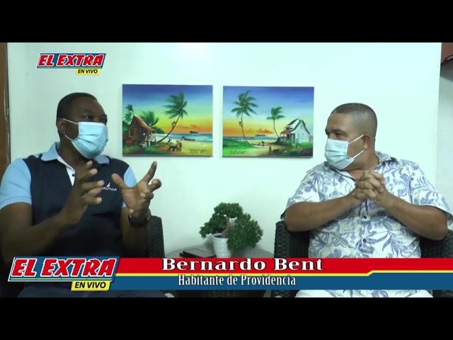 Directo con Edgar Villarreal, Bernardo Bent ex alcalde de la Isla de Providencia.