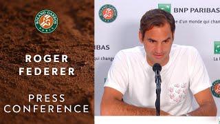Roger Federer - Press Conference after Round 1   Roland-Garros 2019