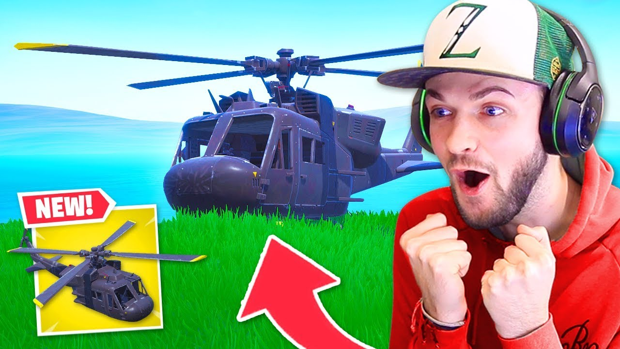 *NEW* Fortnite SECRET Helicopter FOUND!