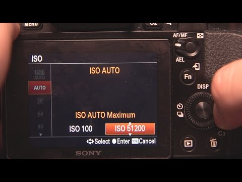 How to set Auto ISO min max Range for all Sony Alpha cameras. A9, a6500, a7iii etc
