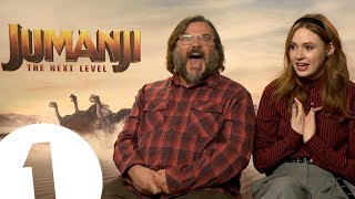 "♬ ""GALAXY GUARDIANS!"" ♬ Jack Black sings Karen Gillan a Marvel-themed song 